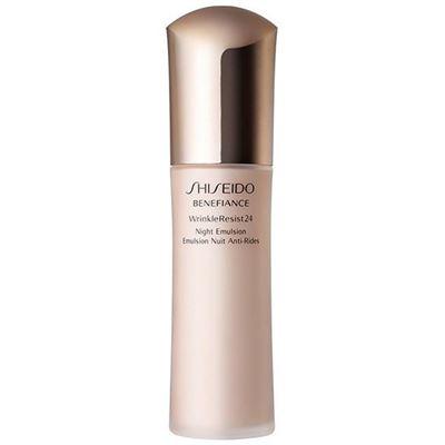 shiseido benefiance wrinkle resist 24 night emulsion 75ml dilay kozmetik. Black Bedroom Furniture Sets. Home Design Ideas