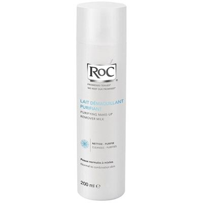 Roc Purifying Make up Remover Milk 200 ml Makyaj Temizleme Sütü