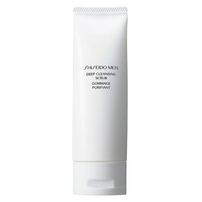 Shiseido Men Deep Cleansing Scrub 125 ml Peeling