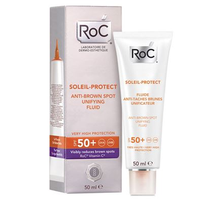 Roc Soleil Protect Anti Brown Spot Unifying Fluid SPF50+