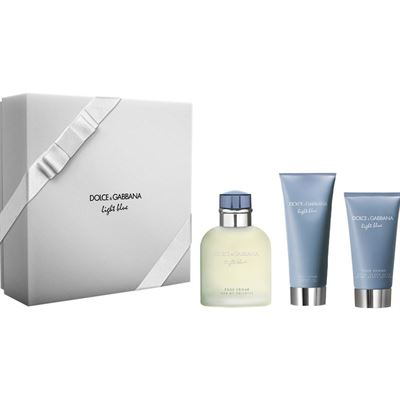 Dolce Gabbana Light Blue Pour Homme EDT 125 ml Erkek Parfüm Set