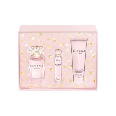 Elie Saab Rose Couture EDT 90 ml Kadın Parfüm Set
