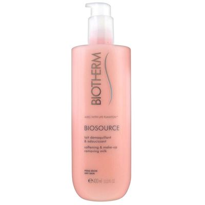 Biotherm Biosource Softening Makeup Removing Milk Kuru Cilt 400 ml