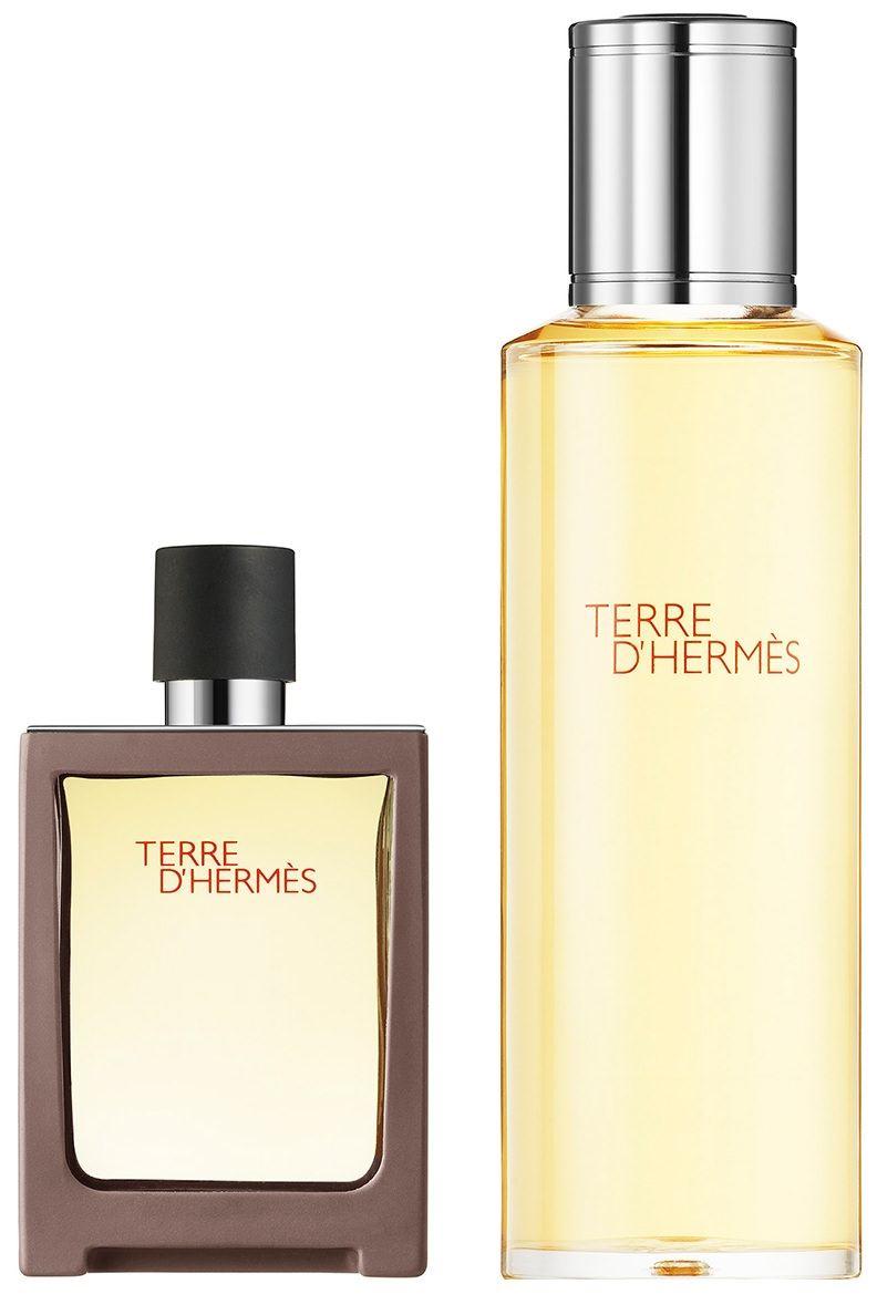 Hermes Terre D Hermes Pure Parfum EDP 30 ml+ 125 ml Refill Erkek Parfüm Set