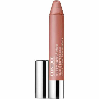 Clinique Chubby Plump And Shine Liquid Lip Gloss Pink Plenty 04