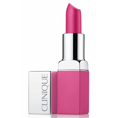 Clinique Pop Matte Lip Colour And Primer Rose Pop 06 Ruj