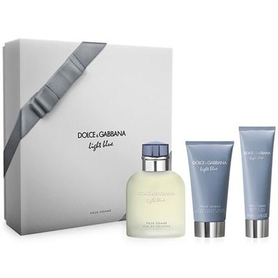 Dolce Gabbana Light Blue Pour Homme 125ml Erkek Parfüm Set