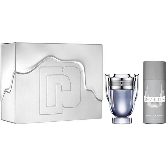 Paco Rabanne Invictus EDT 100 ml Erkek Parfüm Set