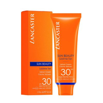 Lancaster Sun Beauty Velvet Touch Face Cream SPF30 50ml