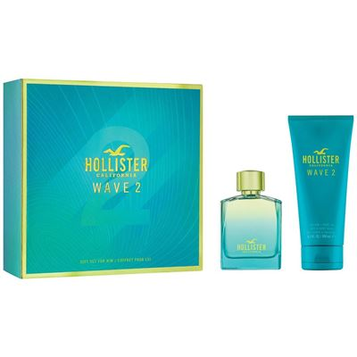 Hollister Wave 2 For Him EDT 100 ml Erkek Parfüm Seti