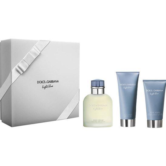 Dolce Gabbana Light Blue Pour Homme EDT 125 ml Erkek Parfüm Set