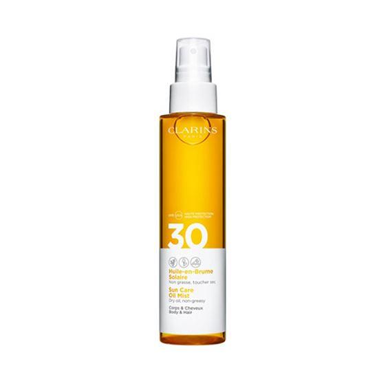 Clarins Sun Care Body Oil-in-Mist SPF30 150 ml Vücut Yağı