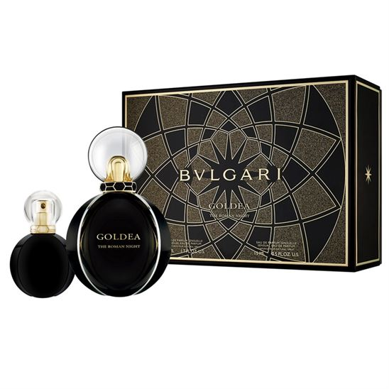 Bvlgari Goldea The Roman Night EDP 50 ml+15 ml Kadın Parfüm Set